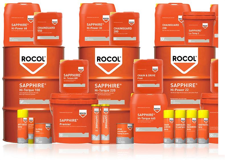 Linha de produtos ROCOL